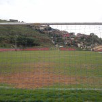 O terreno em que o campo está instalado foi doado pelo Hospital da Baleia Crédito: Pedro Lucchesi