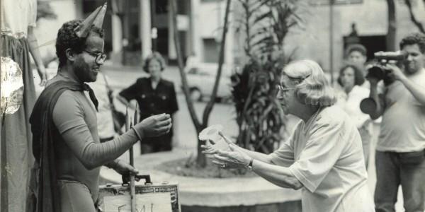 Helena Greco entrega a chave da cidade ao Capetalismo, 12/12/1989
