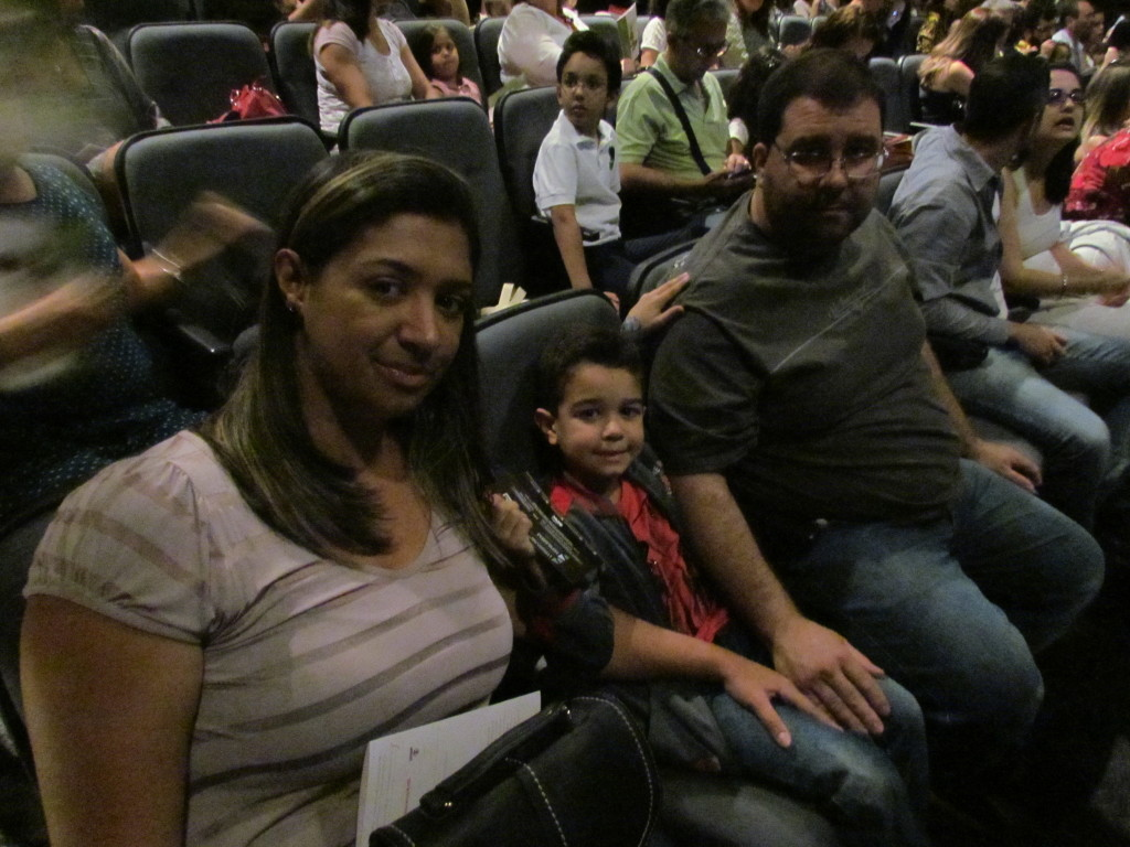 Jordana e família