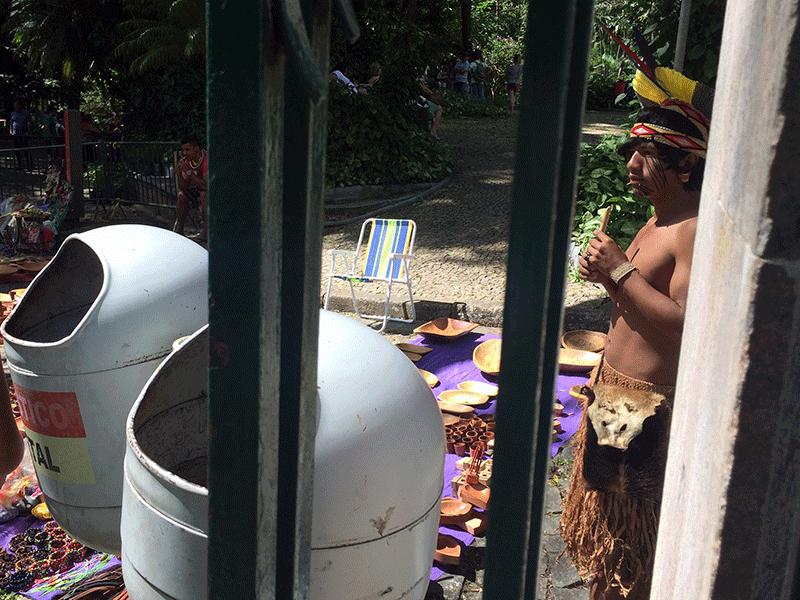 Indígenas Feira Hippie BH