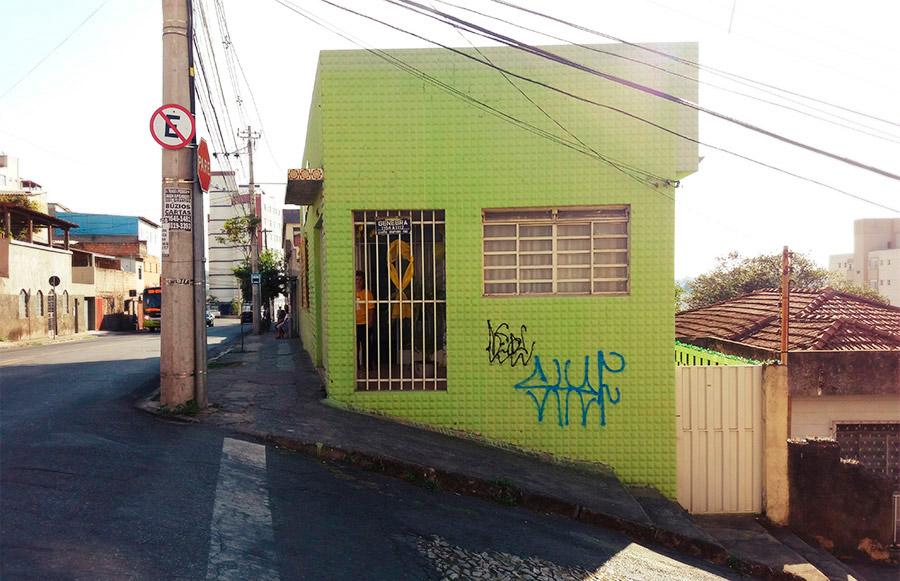 A casa do Centro de Valorização à Vida no bairro Nova Suíça, em Belo Horizonte.